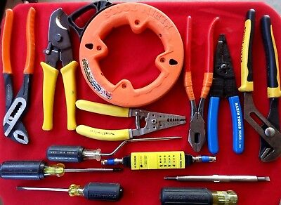 Klein Tools 12 Piece Electrician Tool Kit