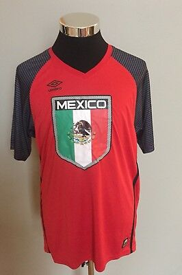 Umbro Mexico Men's Comfort Control Athletic Wear Jersey - Size Xtra Large NWT!!