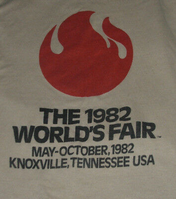 World's Fair T Shirt S Vintage 1982 Knoxville Tennessee