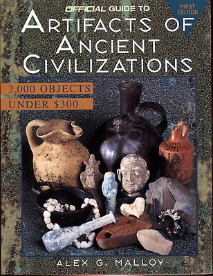 Price Guide Artifacts Ancient Civilizations Antique Antiquities Book Reference