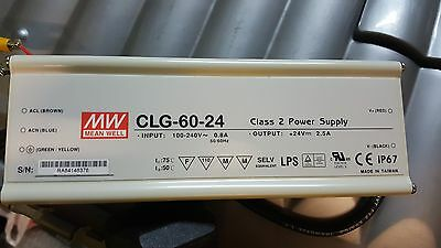 Mean Well CLG-60-24, Constant Voltage 60W 24V 2.5A