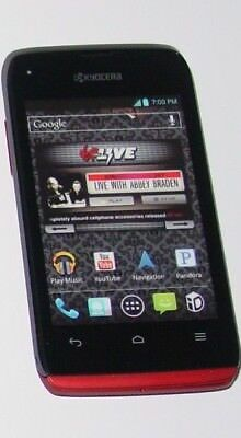 KYOCERA Red Cell Phone - Fake Display Dummy Phone