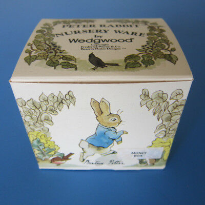 Peter Rabbit Nursery ware by Wedgwood (money box)
