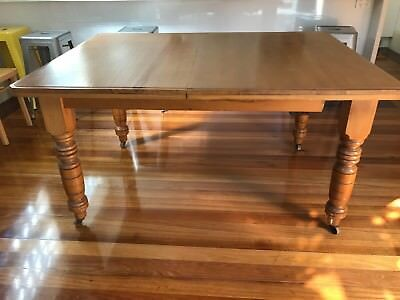 Antique Kauri Pine Extention Table 1430/1860 mm Long