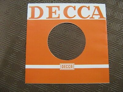 Record Sleeve Reproduction - Decca