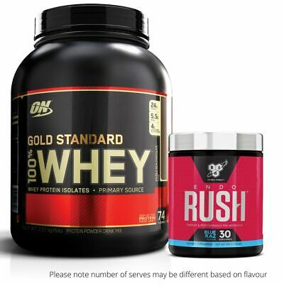 Optimum Nutrition 100% Whey 5lb 2.27kg Gold Standard Protein + FREE GIFT