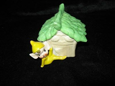 Vintage Kitsch Retro Pixie Ornament-Collectable China- Good Condition-6.5cms
