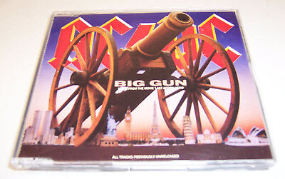 AC/DC: Big Gun single  (Atco, 1993, Germany)