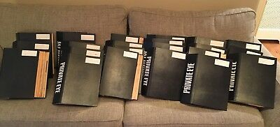 Private Eye Magazine Collection. 228 to1299. LOT 699 issues + Binders FULL LIST!