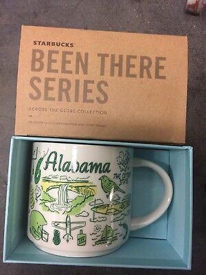 """Starbucks Alabama """"Been There"""" Series 14 oz Mug (New Just released)"""
