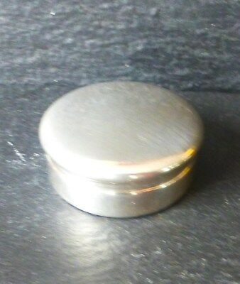 Hallmarked Solid Silver Pill Box