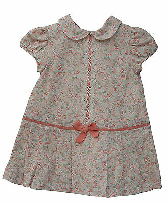 Alber Spanish Romany Floral Pleated Skirt Dress 12 Months A3710