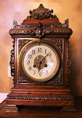 Antique French Bracket Clock