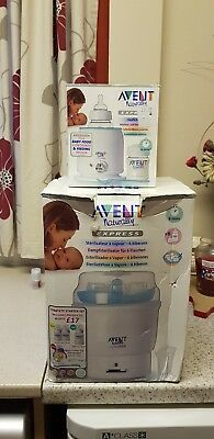 philips avent sterelizer & bottle warmer