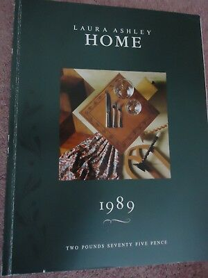 Vintage Laura Ashley Home Catalogue 1989 Reference Book