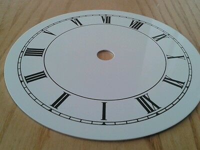 Clock Dial 115mm Roman Enam