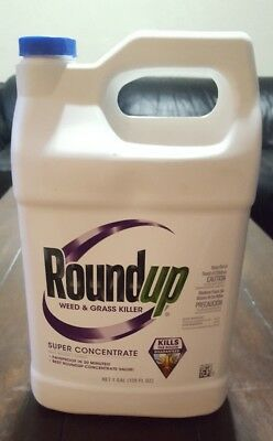 Roundup Super Concentrate 128-oz Weed and Grass Killer Makes 85 Gallons 1 Gal
