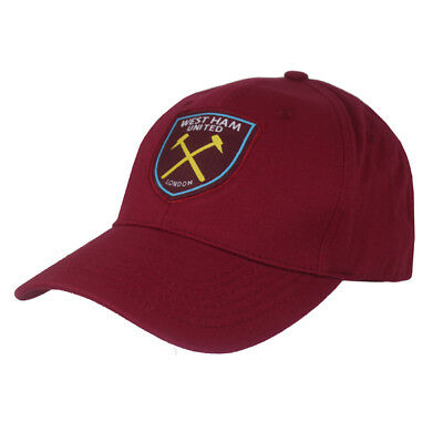 26418ef3b91 WEST HAM UNITED Fc Navy Colour Core Adult Baseball Cap Hat New Xmas ...