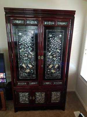 Korean Armoire Mother of Pearl