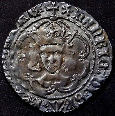 King Henry VII England. Superb Groat. London Mint. English Silver Coin.