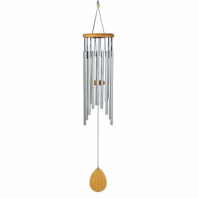 Wind Chime Outdoor, Classic Waterfall Wood Home Display Porch Decorative Chimes