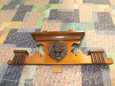 Antique wall clock crown,decorative wooden crown
