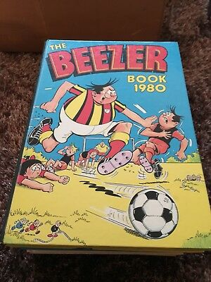 BEEZER BOOK ANNUAL 1980 (unclipped)