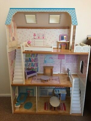Large Wooden Dolls Mansion House (Early Learning Centre, ELC)