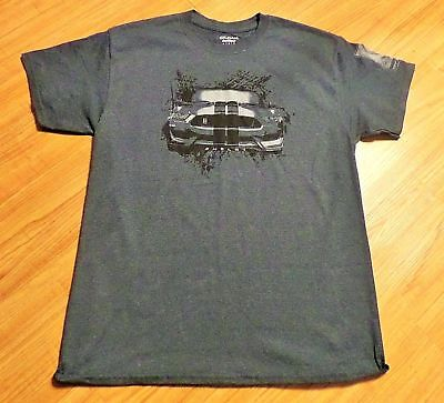 Ford Mustang Gt 350 Shelby Cobra T-Shirt ~Size Large