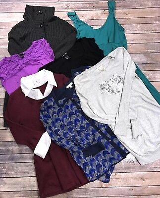 lot of maternity clothes Size Small Medium Shirts Cardigan H&M Liz Lange Mother
