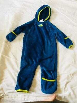North Face Baby Snow Suit Super Soft 6-12 month Boy Girl *EUC