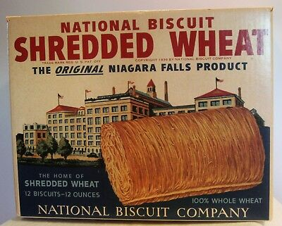 National Biscuit  Shredded Wheat Large Box