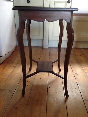 Edwardian mahogany side table, occasional table, elegant, pretty