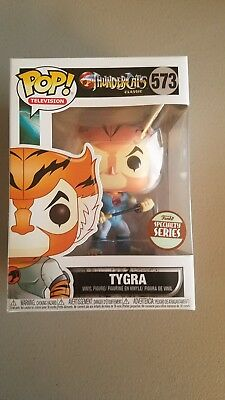 Funko Pop Vinyl TYGRA- Thunder cats 573 Specialty Series