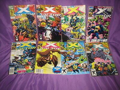 X-Factor 71-99 Lot Of 29 Marvel Comics X-Cutioner's Song Hologram Cover