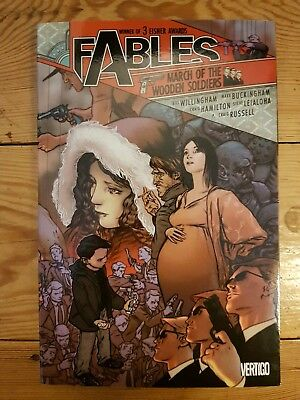 Fables Volume 4 March of the Wooden Soldiers Willingham Vertigo Graphic Novel