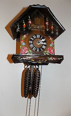 Vintage Black Forest Cuckoo Clock ( Germany )