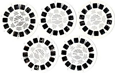 RARE 1958 Ford Motor Co. Edsel Salesman's Promotional Viewmaster 5 Reel set