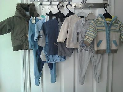 Baby Boy Clothes 0-3 Months, Next, GAP, Mothercare, Good Condition
