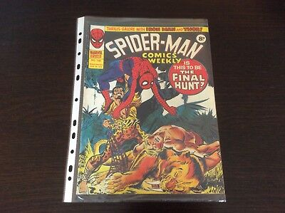 Bronze Age Uk Marvel Comics Spiderman