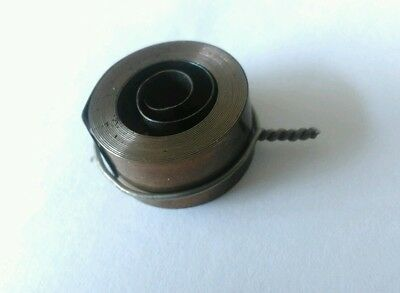 French & German Hole End Clock Mainspring Height 12 mm Diameter 25 mm Force 0.25