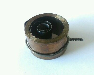 English Dial Hole End Clock Mainspring Height 29mm Diameter 54mm