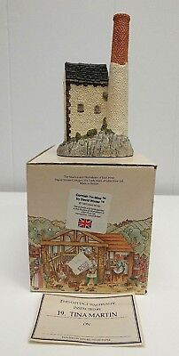David Winter Cottages THE CORNISH TIN MINE Figurine in BOX 1983 GREAT BRITAIN