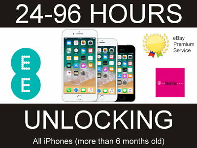 UNLOCKING SERVICE for IPHONE 7 Plus iPhone 7 Unlock EE ORANGE T-MOBILE UK