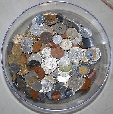 5 Pounds Mixed World Coins...coins From All Over!