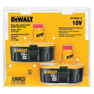 DEWALT 2-Pack 18-Volt 2.4-Amp-Hours Nickel Cadmium Power Tool Battery Kit