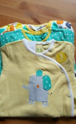 Next 3 Pack Sleepsuits 12-18  Months