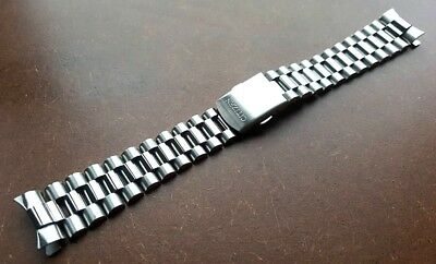 New 20Mm Citizen Stainless Steel Gents Watch Strap Curved Ends (Cz-3)