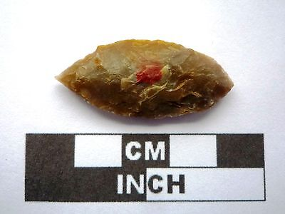 Neolithic Arrowhead 38mm, Saharan Flint Artifact - 4000BC  (K041)