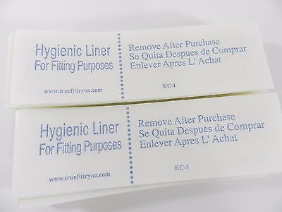 Lot of 25  Try-on Swimsuit Protective Hygienic-Hygenic Liner Adhesive Strip